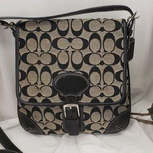 Stylish Black Coach Handbag